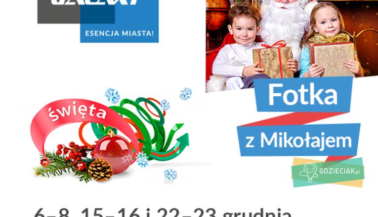Fotka z Mikołajem w Galaxy - atrakcje dla dzieci w Szczecinie