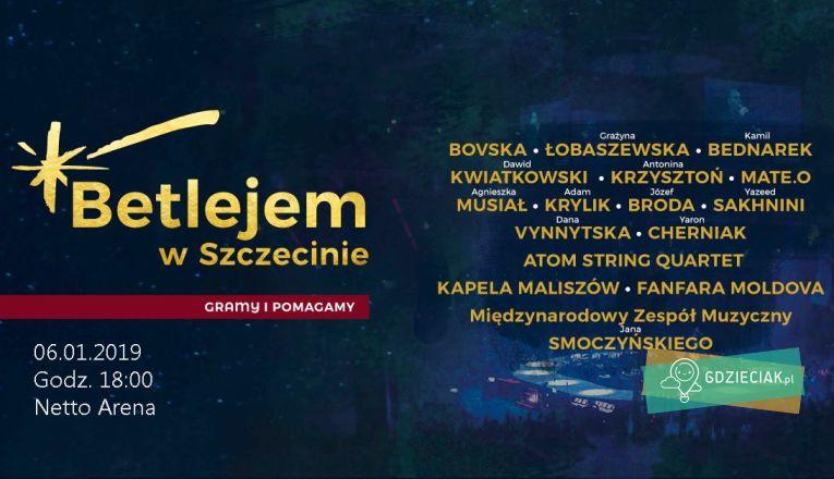 Betlejem – koncert kolęd w Netto Arena - atrakcje dla dzieci w Szczecinie