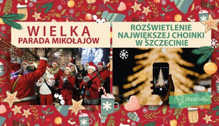 Parada Mikołajów - atrakcje dla dzieci w Szczecinie