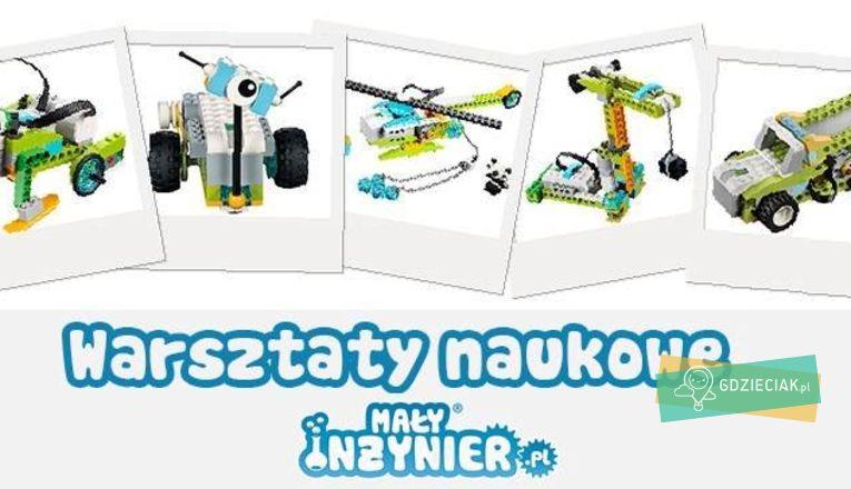 Warsztaty Weekendowe Robotyka Lego Wedo 2.0 - atrakcje dla dzieci w Szczecinie