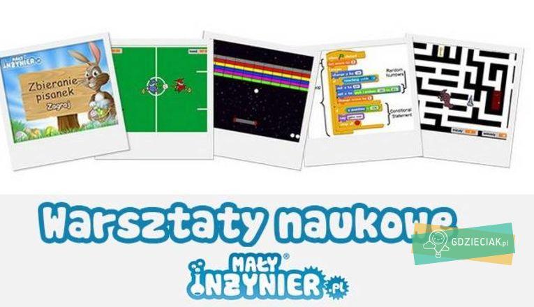 Warsztaty Weekendowe Programowanie Scratch - atrakcje dla dzieci w Szczecinie
