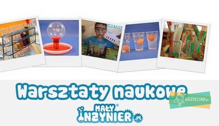 Warsztaty Szalony Naukowiec - atrakcje dla dzieci w Szczecinie
