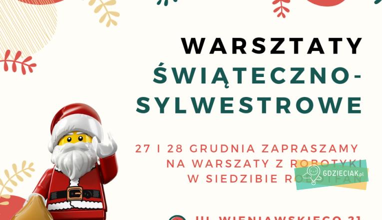 Warsztaty świąteczno-sylwestrowe z Robotfan - atrakcje dla dzieci w Szczecinie