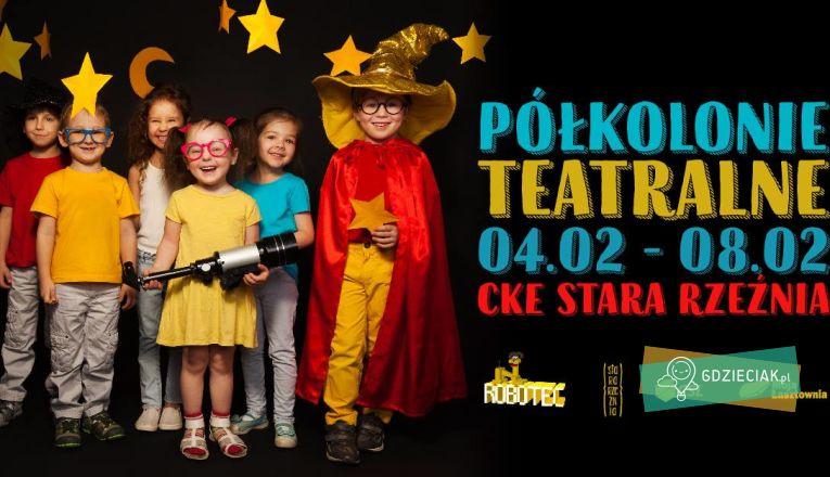 Teatralne półkolonie w Starej Rzeźni - atrakcje dla dzieci w Szczecinie