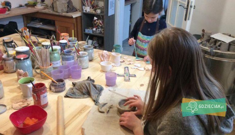 Warsztaty ceramiczne dla dzieci od 6 do 9 lat - atrakcje dla dzieci w Szczecinie