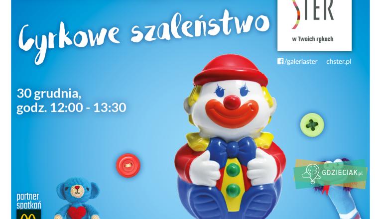 Cyrkowe szaleństwo w Sterze - atrakcje dla dzieci w Szczecinie