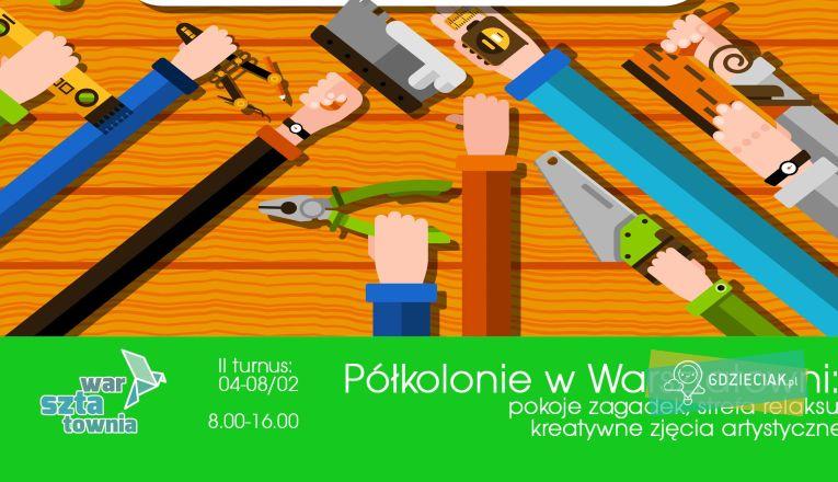 """Półkolonie """"Majsternia"""" - atrakcje dla dzieci w Szczecinie"""