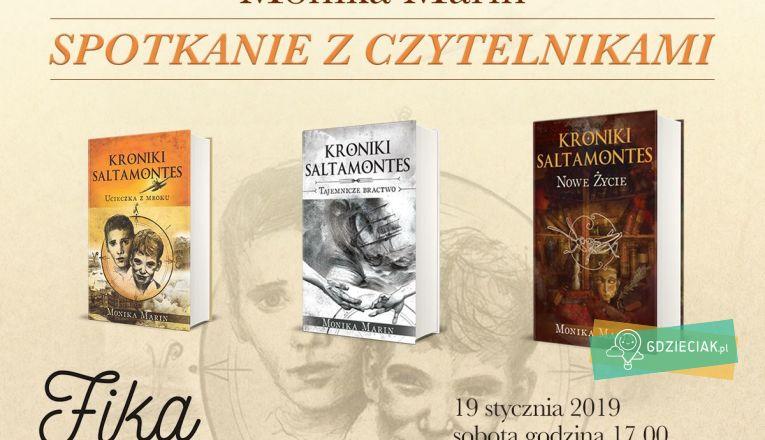 Kroniki Saltamontes – spotkanie autorskie z Moniką Marin - atrakcje dla dzieci w Szczecinie