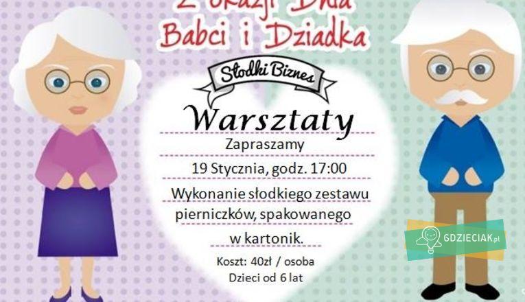 Pierniczki dla babci i dziadka – warsztaty - atrakcje dla dzieci w Szczecinie