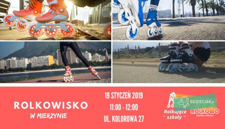Rolkowisko w Mierzynie - atrakcje dla dzieci w Szczecinie