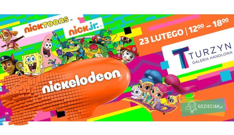 Nickelodeon Park w C.H. Turzyn - atrakcje dla dzieci w Szczecinie