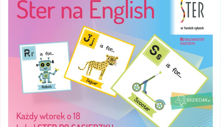 Ster na English – bezpłatna nauka angielskiego dla dzieci - atrakcje dla dzieci w Szczecinie