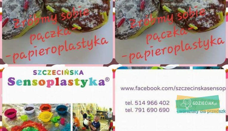 Papieroplastyka: zróbmy sobie pączka na ostatki - atrakcje dla dzieci w Szczecinie