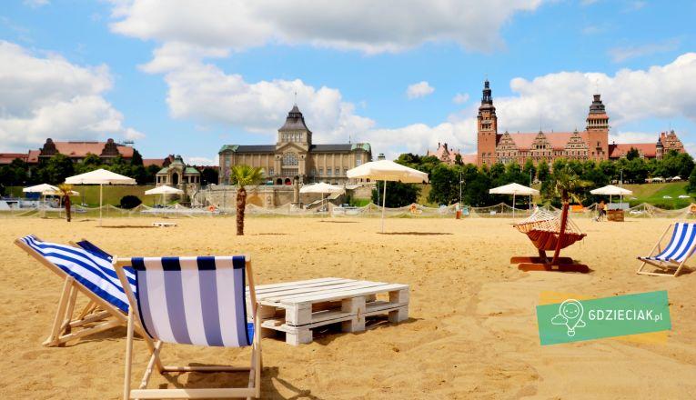 Otwarcie Miejskiej Strefy Letniej - atrakcje dla dzieci w Szczecinie