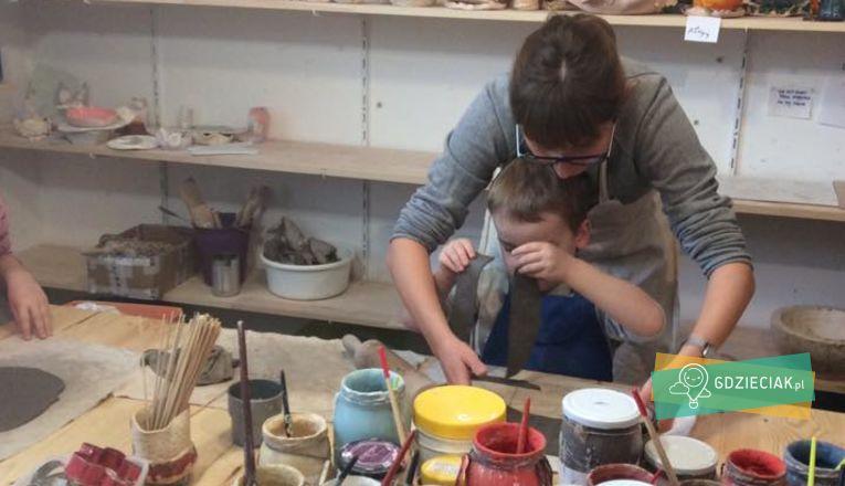 Sobotnie warsztaty ceramiczne dla dzieci i dorosłych - atrakcje dla dzieci w Szczecinie