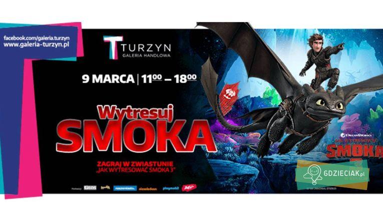Wytresuj smoka w C.H. Turzyn - atrakcje dla dzieci w Szczecinie