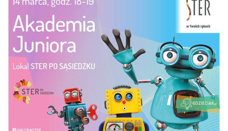 Akademia Juniora w Sterze – robotyka i programowanie - atrakcje dla dzieci w Szczecinie