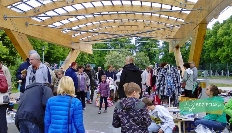 Pchli targ na Pogodnie - atrakcje dla dzieci w Szczecinie