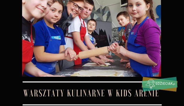Warsztaty Kulinarne W Kids Arenie - atrakcje dla dzieci w Szczecinie