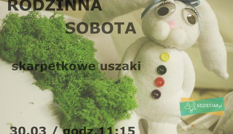 Rodzinne sobotnie warsztaty w Trafostacji: skarpetkowe uszaki - atrakcje dla dzieci w Szczecinie