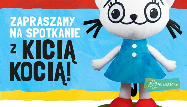 Dobranocka z Kicią Kocią - atrakcje dla dzieci w Szczecinie