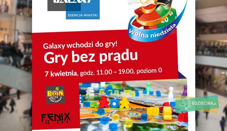 Gry bez prądu w Galaxy - atrakcje dla dzieci w Szczecinie
