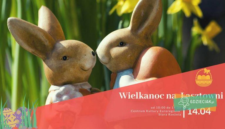 Wielkanoc na Łasztowni - atrakcje dla dzieci w Szczecinie
