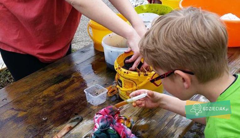Dodajmy kolorów – czyli kwietniowe farbowanie - atrakcje dla dzieci w Szczecinie