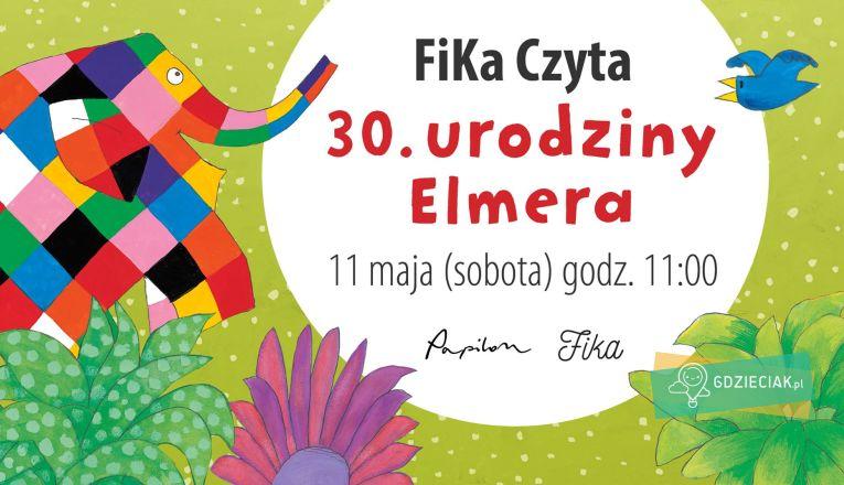 FiKa Czyta. Słoń Elmer. - atrakcje dla dzieci w Szczecinie