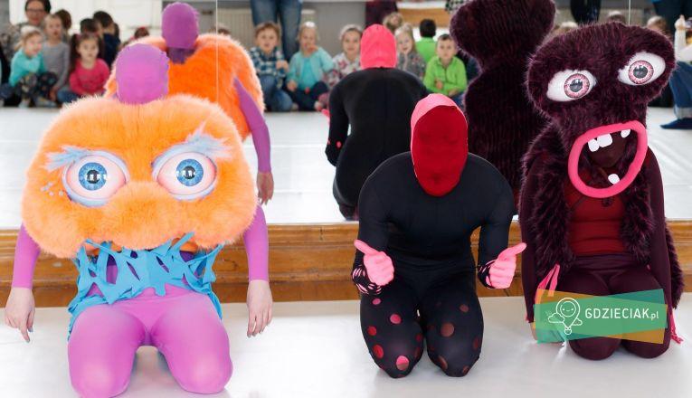 Taneczny Tydzień Dziecka: Patchworkowe stworki - atrakcje dla dzieci w Szczecinie