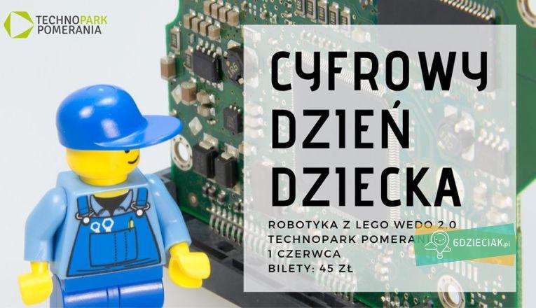 Cyfrowy Dzień Dziecka w Technoparku Pomerania - atrakcje dla dzieci w Szczecinie