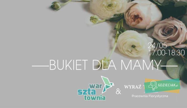 Warsztaty florystyczne w Warsztatowni - atrakcje dla dzieci w Szczecinie