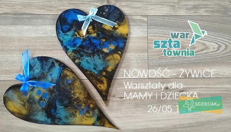 Serce dla Mamy – zajęcia plastyczne w Warsztatowni - atrakcje dla dzieci w Szczecinie