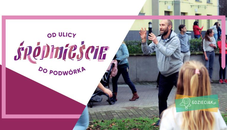 Podwórkowa gra (śród)miejska #2 - atrakcje dla dzieci w Szczecinie