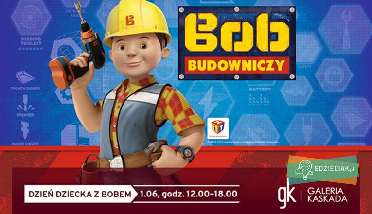 Spotkanie z Bobem Budowniczym w Kaskadzie - atrakcje dla dzieci w Szczecinie