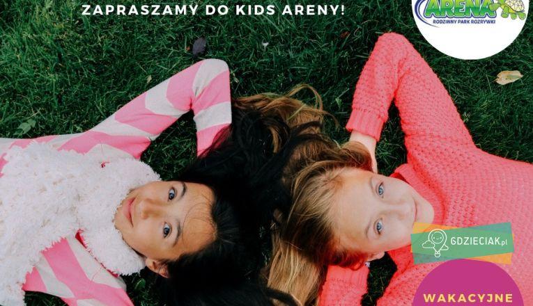 Summer Camp w Kids Arena - atrakcje dla dzieci w Szczecinie