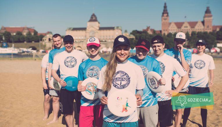 Darmowe treningi Frisbee na bulwarach - atrakcje dla dzieci w Szczecinie