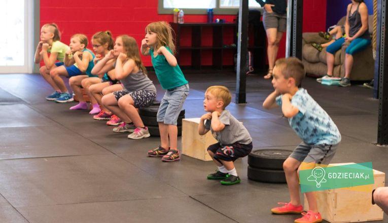 Zajęcia CrossFit Kids - atrakcje dla dzieci w Szczecinie