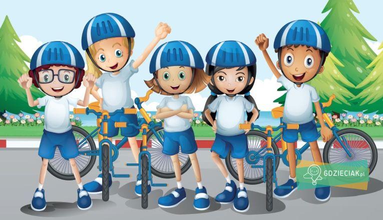 Dziecięce Zawody Rowerkowe w Kaskadzie - atrakcje dla dzieci w Szczecinie
