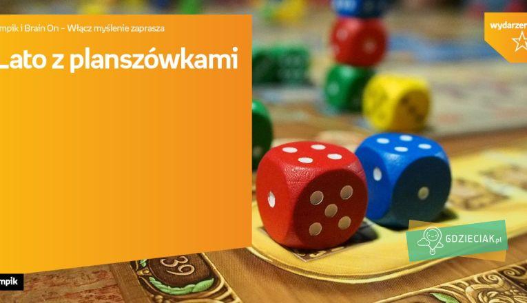 Lato z planszówkami w Empiku - atrakcje dla dzieci w Szczecinie