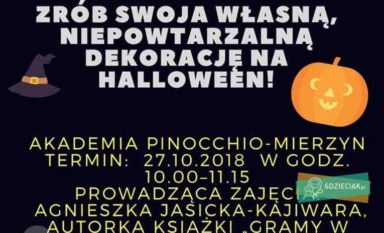 Szacecin dla dzieci: Hallowenowe warsztaty plastyczne z językiem angielskim