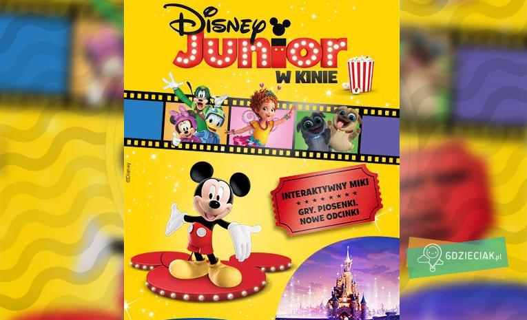 Szacecin dla dzieci: Disney Junior w kinie Helios