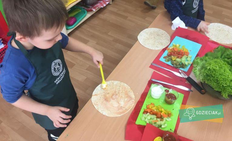 Szacecin dla dzieci: Warsztaty kulinarne w przedszkolu Zielony Miś