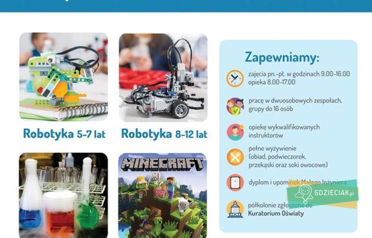 Szacecin dla dzieci: Półkolonie letnie w Małym Inżynierze