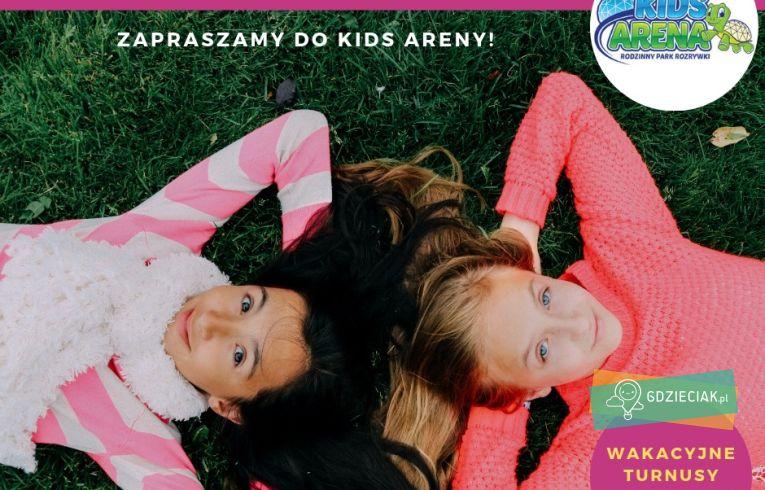 Szacecin dla dzieci: Summer Camp w Kids Arena
