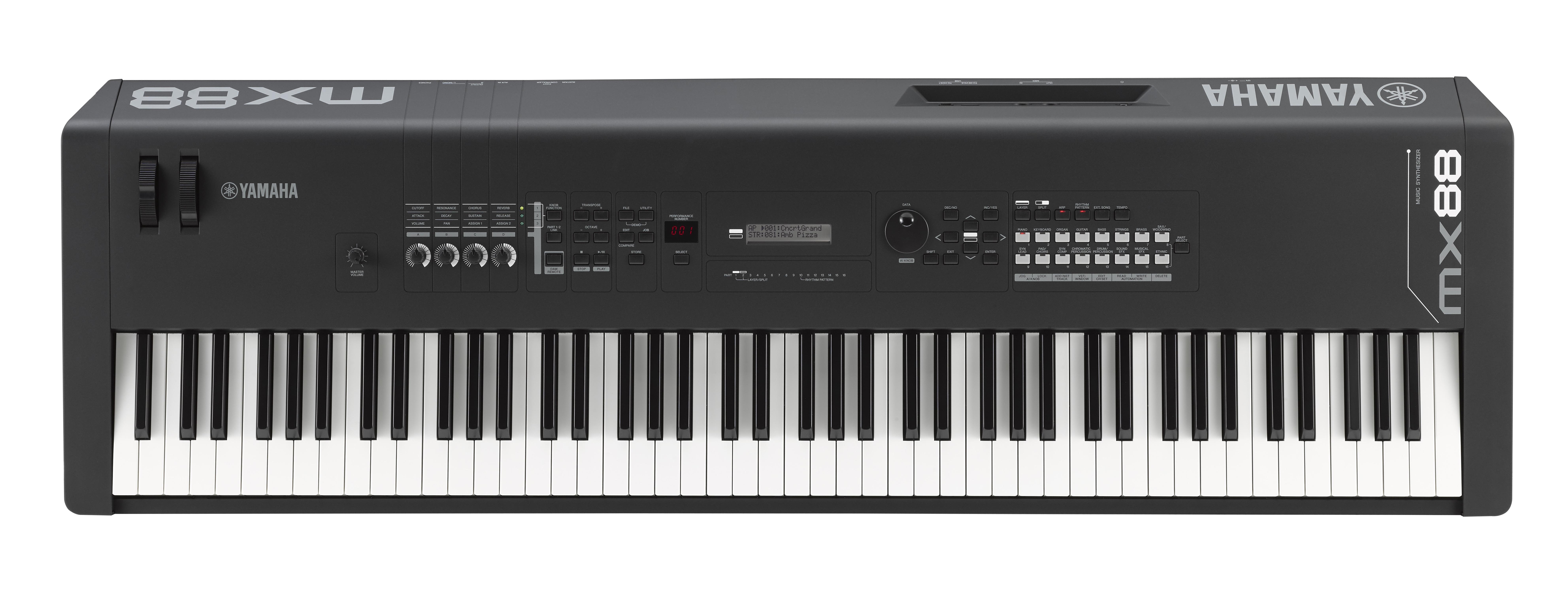 Yamaha mx88 88 note weighted action synthesizer for Yamaha keyboard synthesizer