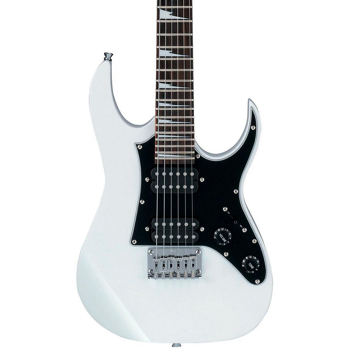 ibanez grgm21 gio mikro 3 4 size white electric guitar. Black Bedroom Furniture Sets. Home Design Ideas