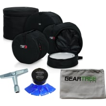 Gator GP-FUSION16 5 Piece Set of Padded Nylon Bags