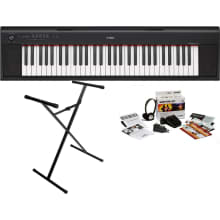 NP12B Kit Piaggero 61-Key Digital Piano Bundle