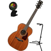 AC240OPN Artwood Grand Concert Acoustic Bundle